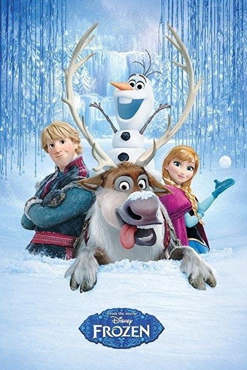 Pyramid International Maxi Poster Frozen Snow Group Renkli